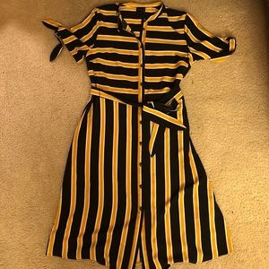 CUTE BUTTON FRONT DRESS